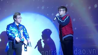 CHỈ LÀ GIẤC MƠ - BÙI ANH TUẤN ft. TRUNG QUÂN IDOL (PHÒNG TRÀ ĐỒNG DAO 15-09-18)
