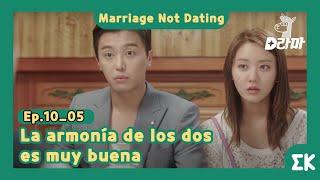 [#MarriageNotDating] Ep.10-05   La armonía de los dos es muy buena    #EntretenimientoKoreano
