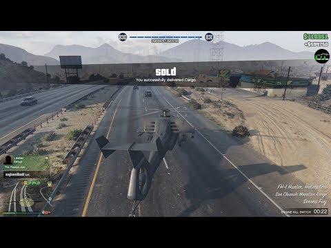 GTA 5 Smuggler's Run DLC (Selling FULL Stock From Hangar $594,750)