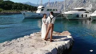 Бекстейдж свадебной фотосессии в Прчани и в парке Ловчен. Фотограф в Черногории Максим Мота.