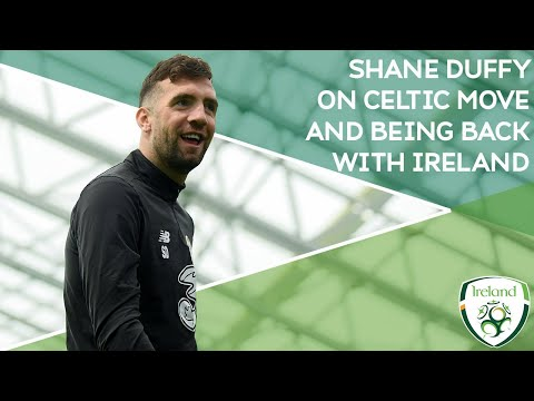 """INTERVIEW   Shane Duffy signs for Celtic   """"Can't wait to get back on the pitch for Ireland"""""""