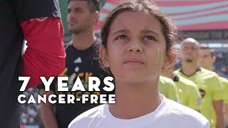 Dreams Come True with LAFC for 9-Year-Old Cancer Survivor Arianna