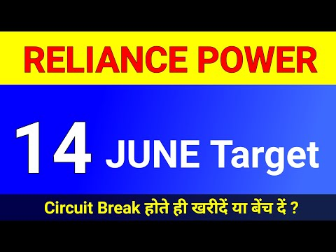 Download Reliance Power 14 June Target । Reliance Power latest news । Reliance Power share price