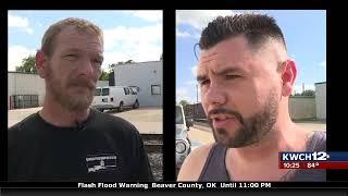 FF12 Citizens complain of massive tire dump, city resp