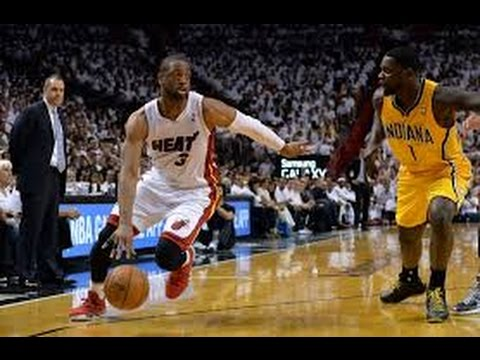 Dwyane Wade: Full Series Highlights vs Pacers 2014 ECF 19.8 PPG, 5 APG 55% FG