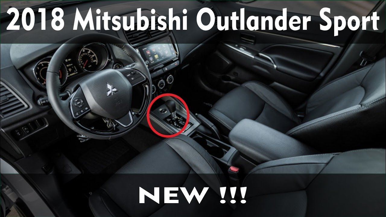 2018 mitsubishi sports car. delighful car 2018 mitsubishi outlander sport gets a mild makeover for mitsubishi sports car d