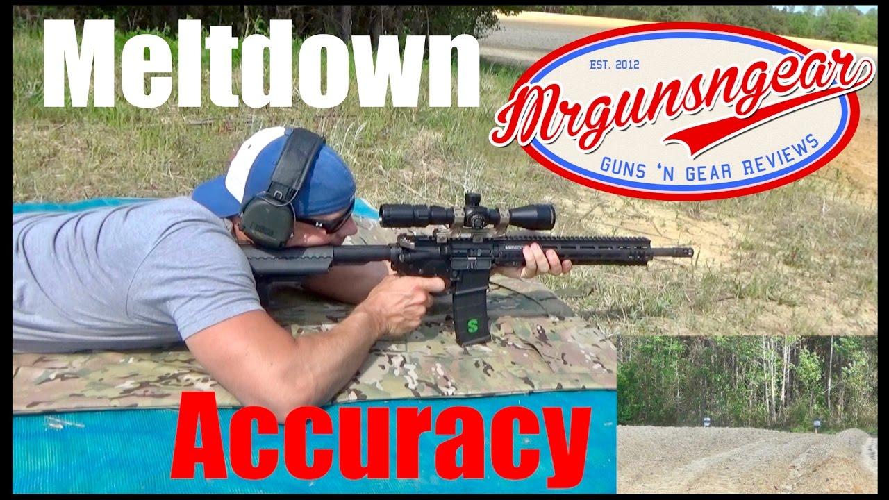 After The AR-15 Full Auto Meltdown Test: Chrome vs  Nitride