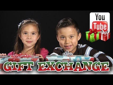 YouTube GIFT EXCHANGE!!! EvanTubeHD, KittiesMama & Bratayley