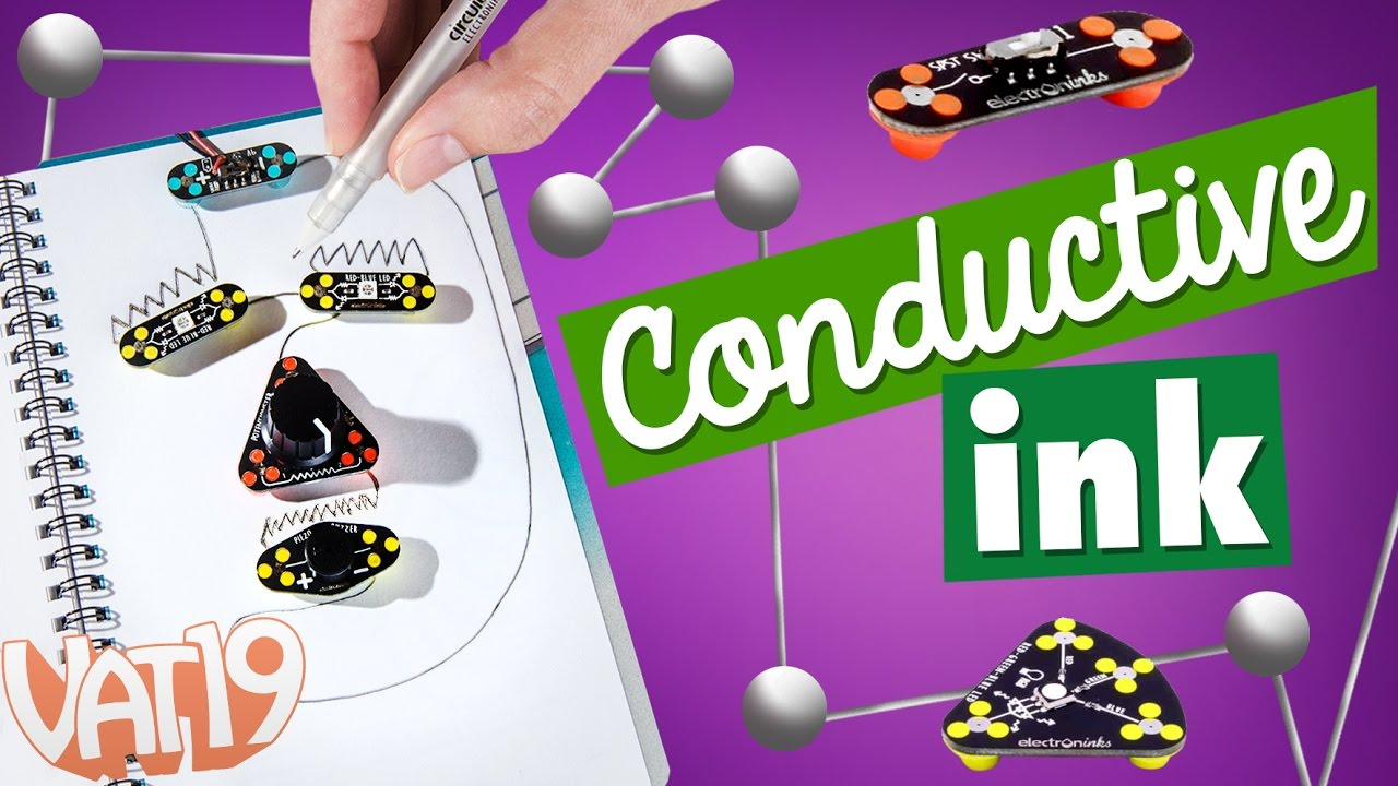 Draw Circuits: Create electrical circuits with conductive ink! - YouTube