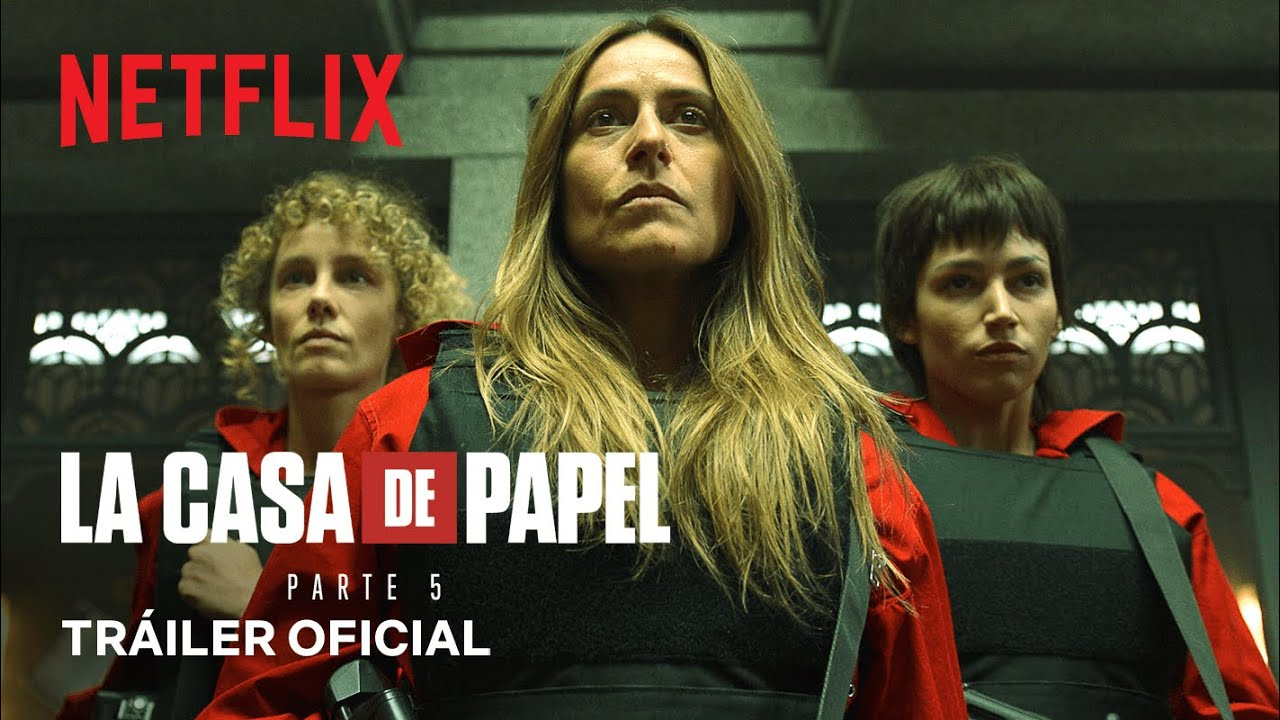 Download La casa de papel: Parte5 (Volumen1)   Tráiler oficial   Netflix