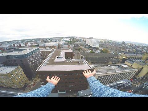 CLIMBING BUILDINGS IN NEWCASTLE - Parkour & Urban Exploring | JonaTV