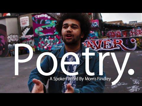 Poetry. - A Spoken Word Poem by Morris Findley