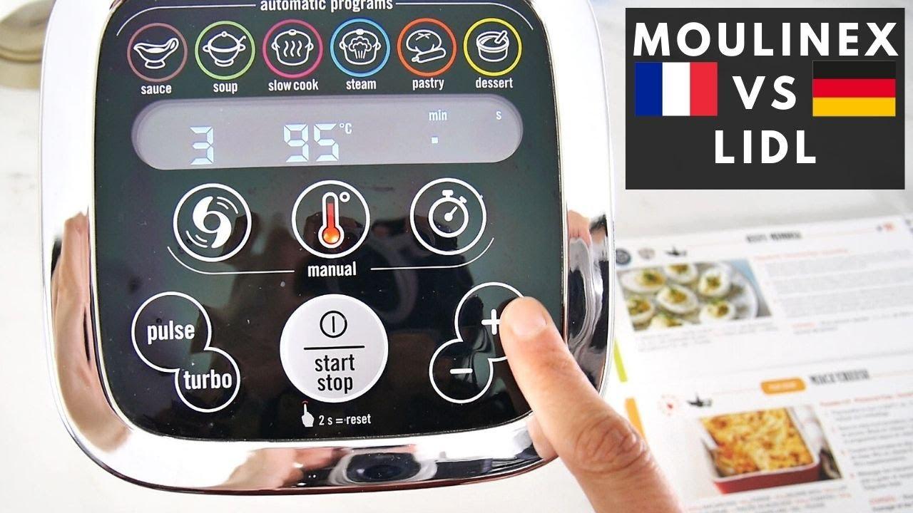 Comparatif Companion Moulinex Et Monsieur Cuisine Allemagne
