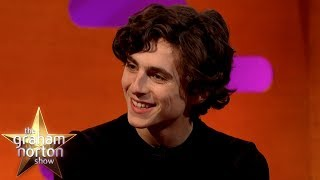 No One Told Timothée Chalamet & Armie Hammer To Stop Making Out | The Graham Norton Show