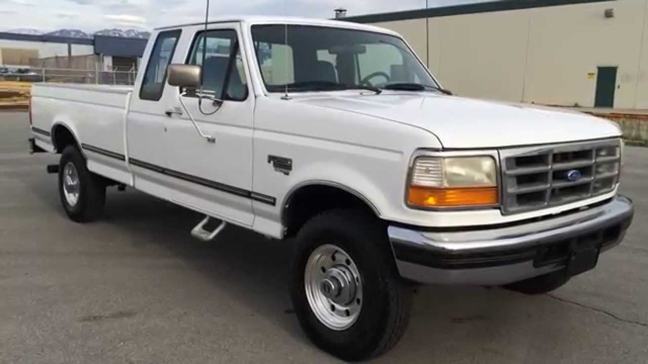 WWW.DIESEL-DEALS.COM 1995 FORD F250 SUPERCAB 4X4 105K 7.3 POWERSTROKE