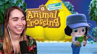 My first time playing Animal Crossing (New Horizons) [1]