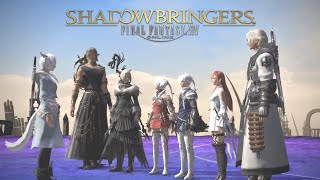 "Cover images ""Shadowbringers"" + ""Who Brings Shadow"" + ""Invincible"" + ""Tomorrow and Tomorrow"" FFXIV LYRIC VIDEO"