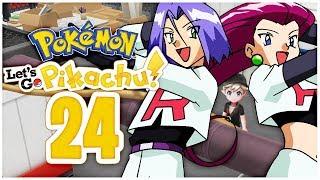 Das ROCKET VERSTECK & der Aufzugsschlüssel | Pokemon Let's Go Pikachu Part 24