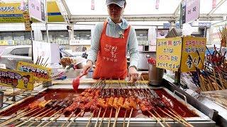 Authentic KOREAN STREET FOOD Tour of Seomun Market | Daegu, South Korea