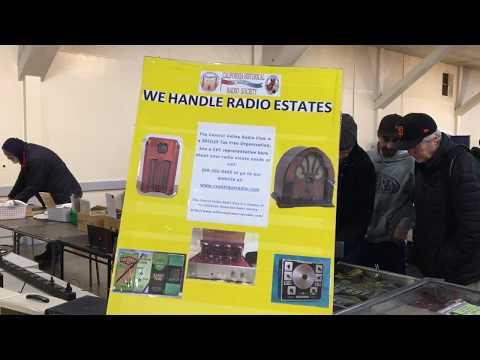 CVC January 2018 Annual Turlock Model A Swap Meet Radio Booth