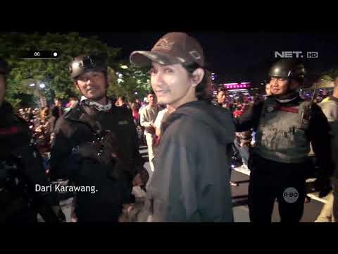Momen Pengamanan Tahun Baru Jadi Ajang Jumpa Fans Tim Prabu