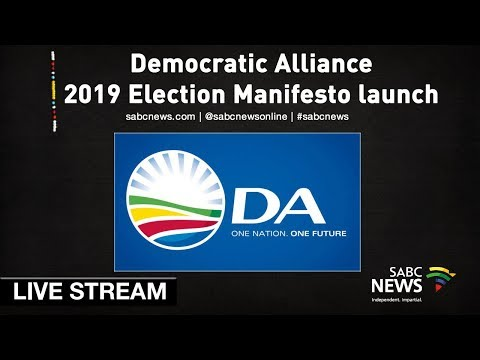 Democratic Alliance 2019 Election Manifesto launch, 23 February 2019