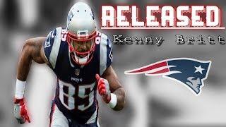 Patriots Release WR Kenny Britt