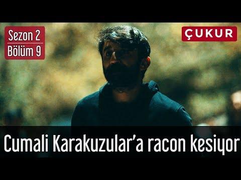 Çukur 2.Sezon 9.Bölüm - Cumali Koçovalı Karakuzular'a Racon Kesiyor