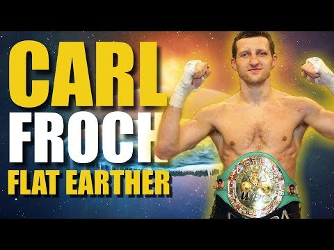 Carl Froch Claims The Earth Is Flat thumbnail
