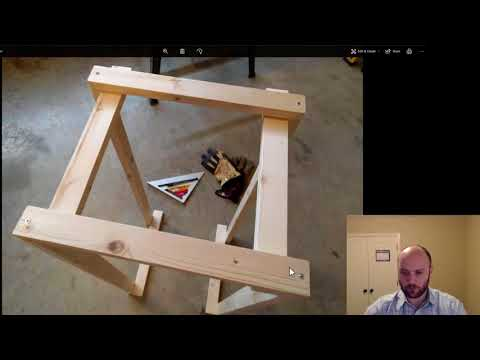 How To Build Wood Frame Mining Rig