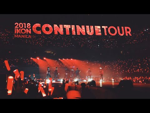 IKON (아이콘) Continue Tour In Manila | My Closest Fancam Ever 😱❤️