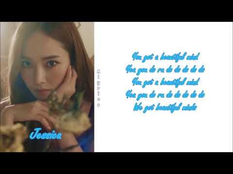 Jessica - Beautiful Mind (Rom~Han~Eng)