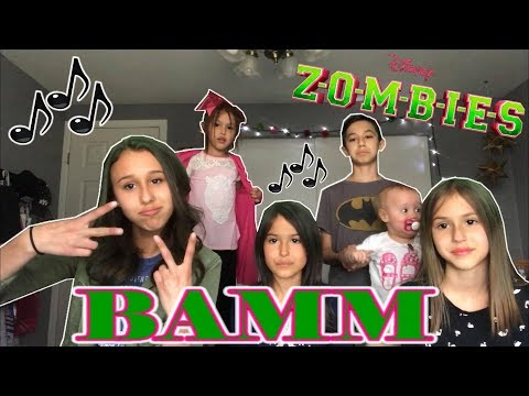 BAMM (from Z-O-M-B-I-E-S) Cover by Brooklyn, Presley, Emmy and The rest of the Sierra Kids!!!
