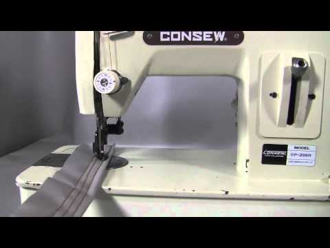 CONSEW CP40 R YouTube Enchanting Consew Cp206r Sewing Machine