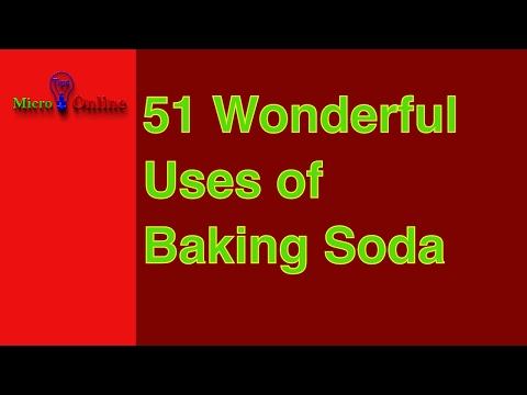 😀😀 51 Wonderful Uses of Baking Soda