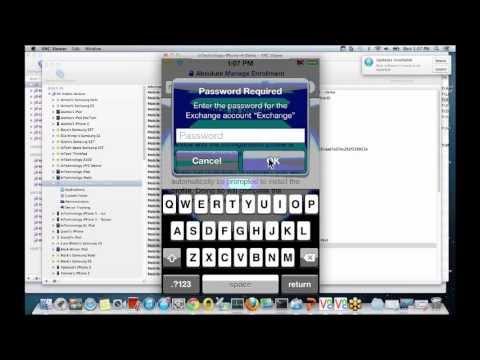 Mobile Device Management (MDM) webinar