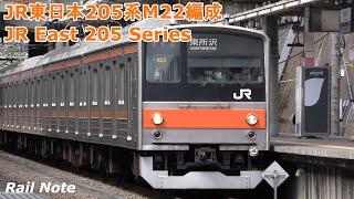 終点東所沢到着 武蔵野線205系5000番台入庫/JR 205 Series at Musashino line Higashi-Tokorozawa Sta./2019.05.09