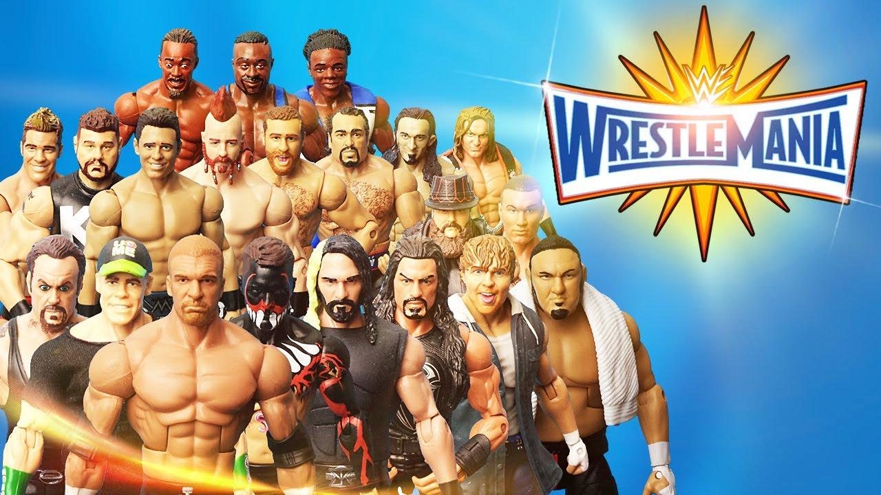 Wrestlemania 33 Full Show