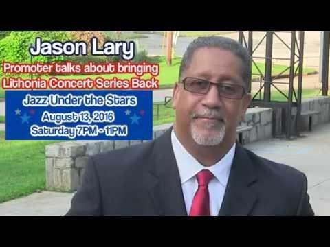 Jason Lary Concerts - Atlanta jazz music at Lithonia Amphitheater