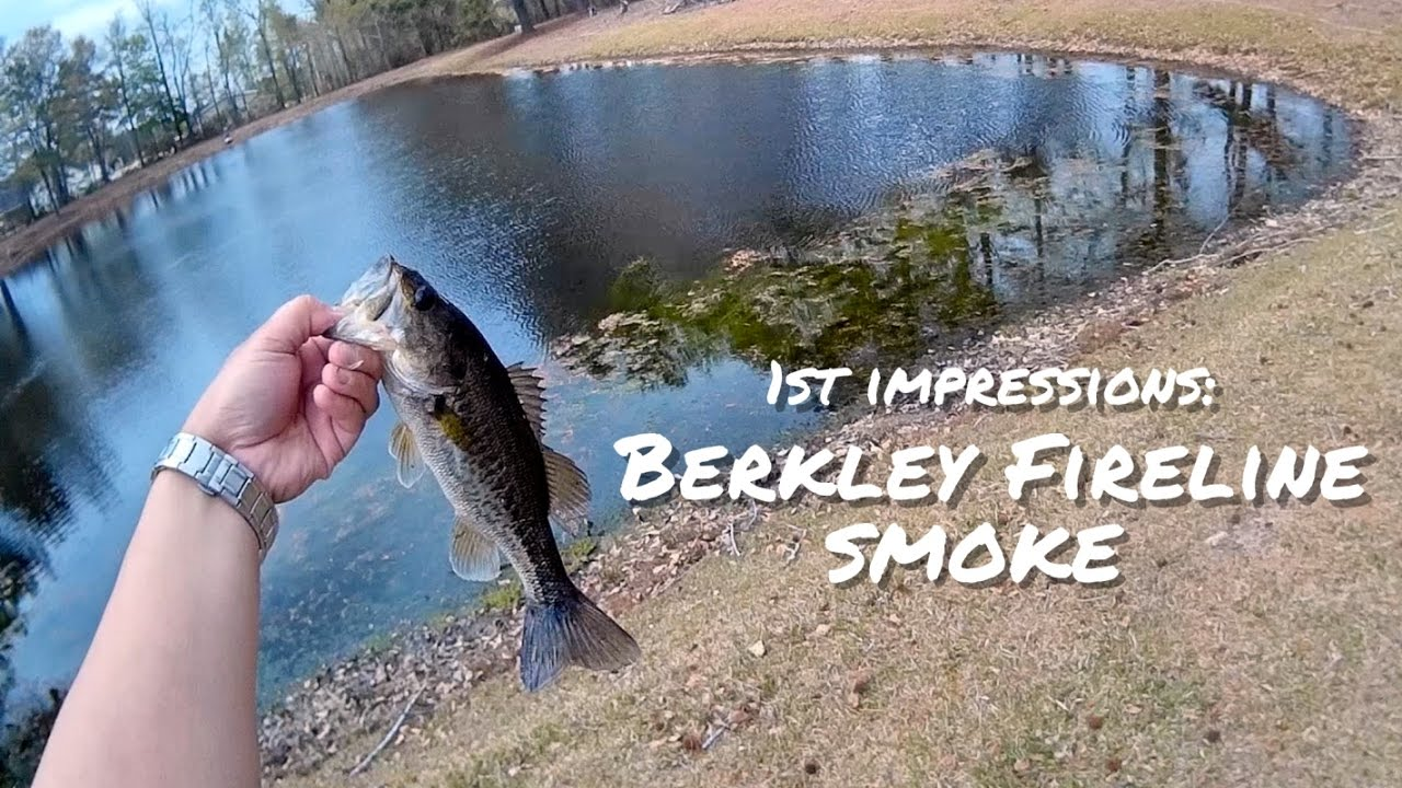 Berkley Fireline (Smoke) First Impressions & Quick Review