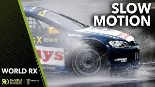NOTHING BUT SLOW MOTION RALLYCROSS! | World Rallycross