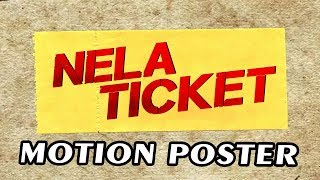 Nela Ticket (2019) Official Motion Poster | Ravi Teja, Malvika Sharma, Jagapathi Babu