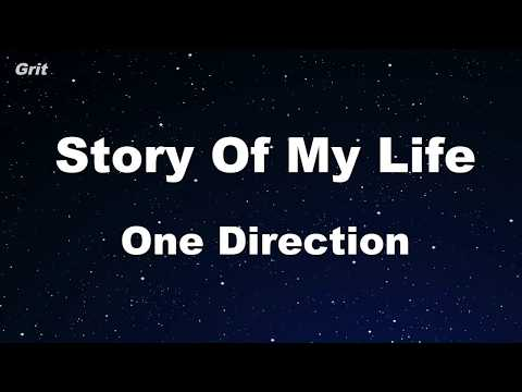 Story of My Life - One Direction Karaoke 【With Guide Melody】 Instrumental