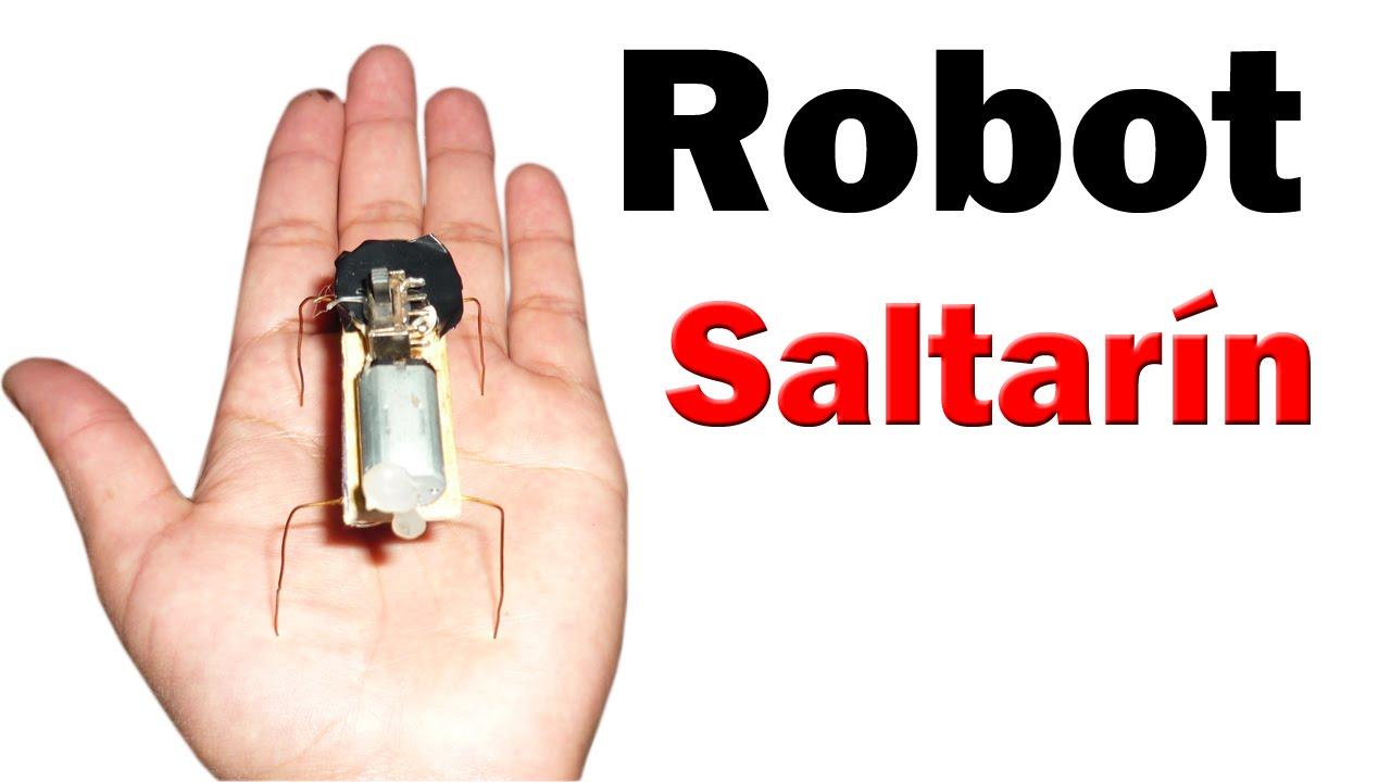 Cómo Hacer un Mini Robot Saltarín (muy fácil de hacer) - YouTube
