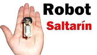 Cómo Hacer un Mini Robot Saltarín (muy fácil de hacer)