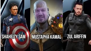 Jika Avengers Dilakonkan Pelakon Malaysia - Avengers- Endgame