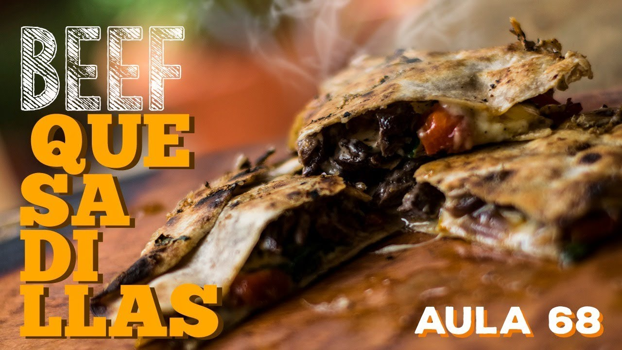 Beef Quesadilla (Como fazer quesadilla mexicana) / Cansei de Ser Chef