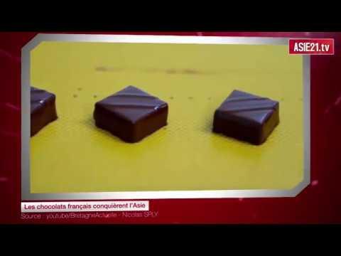 Les chocolats français conquièrent l'Asie