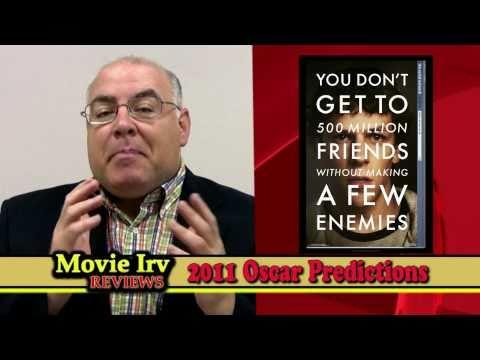 2011 Oscars! Academy Awards Predictions by Movie Irv Reviews