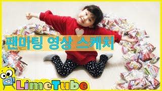 라임의 생애 첫 팬미팅 영상 스케치 및 번개맨 시사회 LimeTube & Toys Play 라임튜브